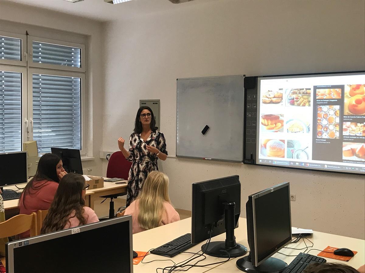 OBISK UČITELJIC IZ PORTUGALSKE