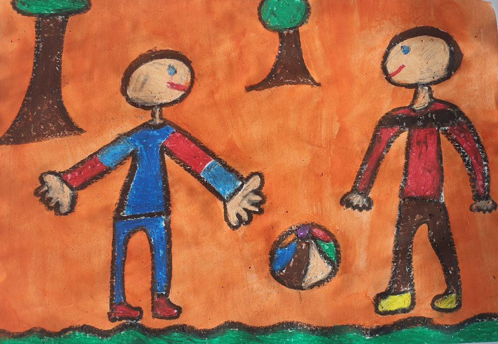 Učenci 5. A in 5. B sodelovali na likovnem natečaju Bodi umetnik